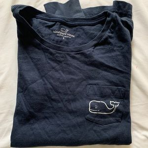 Vineyard Vines Dark Blue Navy Long Sleeve T Shirt